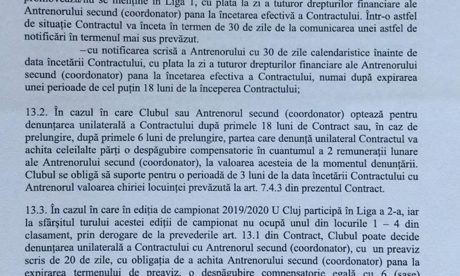 Clauzele din contractul lui Lobont sunt defavorabile clubului